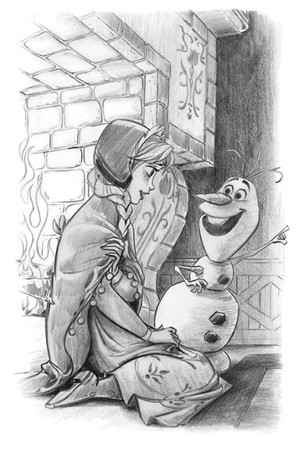 Anna and Olaf