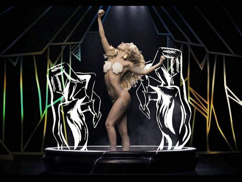 Lady Gaga fond d'écran called Applause video