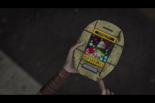 2012 Teenage Mutant Ninja Turtles 壁紙 called April's T-Phone