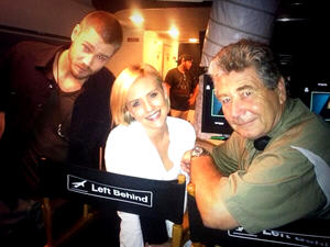 August, 11 - Chad & Nicky On Set Of Left Behind