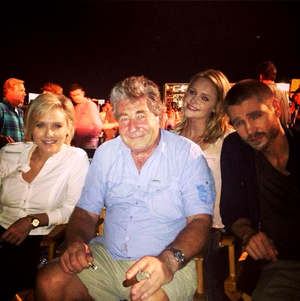 August, 23 - Chad & Nicky On Set Of Left Behind