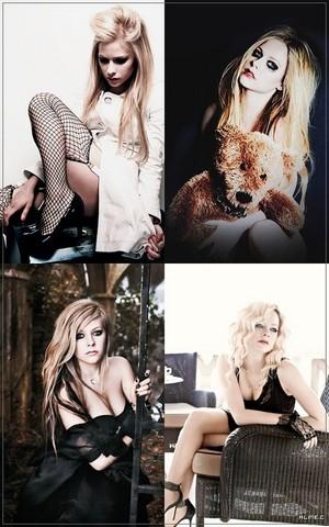 Avril Lavigne Collage - Sexy Lavigne