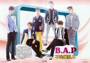 B.A.P for fans Magazine Oct. VOL. #3