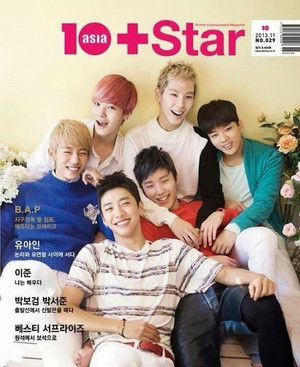 B.A.P in 10Asia(10+star) Magazine November issue
