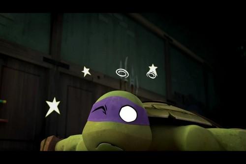 2012 Teenage Mutant Ninja Turtles wallpaper entitled B-Team Knockout