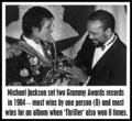 Backstage At The 1984 Grammy Awards - michael-jackson photo
