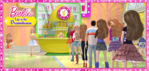 Barbie: Life in the Dreamhouse پیپر وال entitled Barbie Life in the Dreamhouse