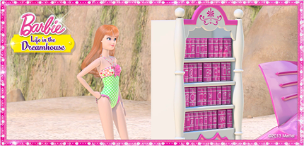búp bê barbie Life in the Dreamhouse