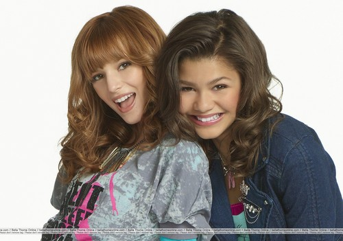 Shake It Up wallpaper possibly containing a portrait titled Bella & Zendaya / Rocky & CeCe   {B.F.F's}