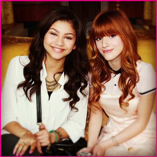 Shake It Up wallpaper entitled Bella & Zendaya / Rocky & CeCe   {B.F.F's}