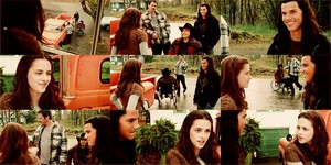 Bella and Jacob(Twilight)
