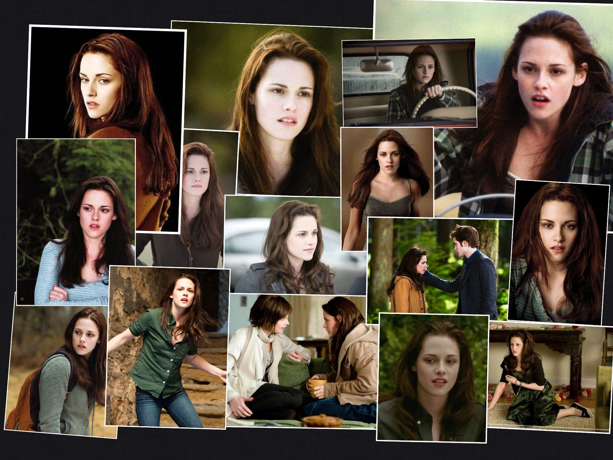 twilight series images bella in new moon hd wallpaper and background