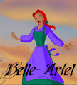 Belle-Ariel - disney-princess photo