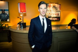 Benedict at Vogue Party