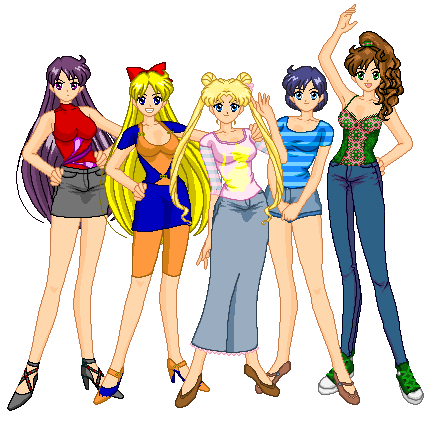 Sailor Moon wallpaper probably with anime entitled Best Friends