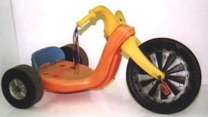 Big Wheel- toy bike