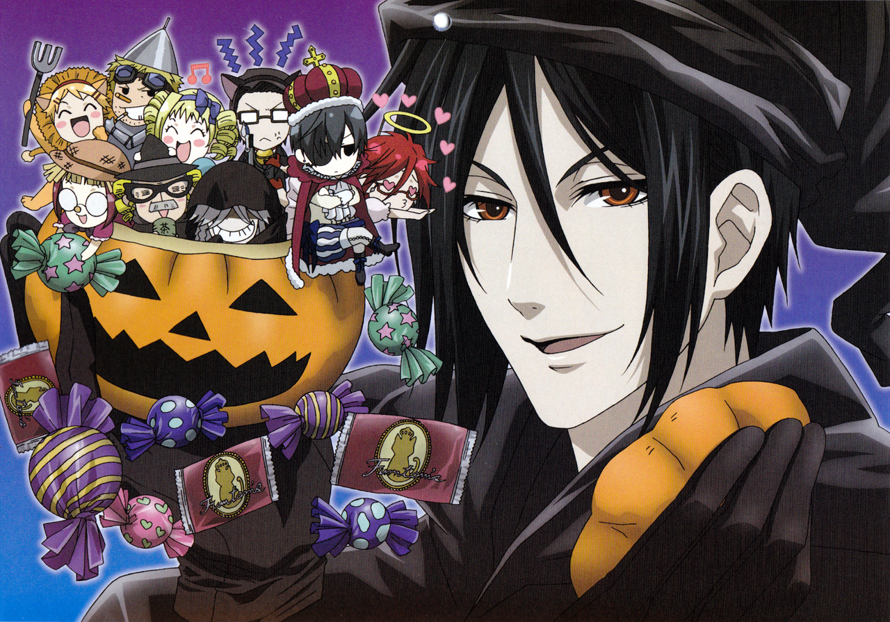 Anime Characters For Halloween : Black butler characters images halloween hd