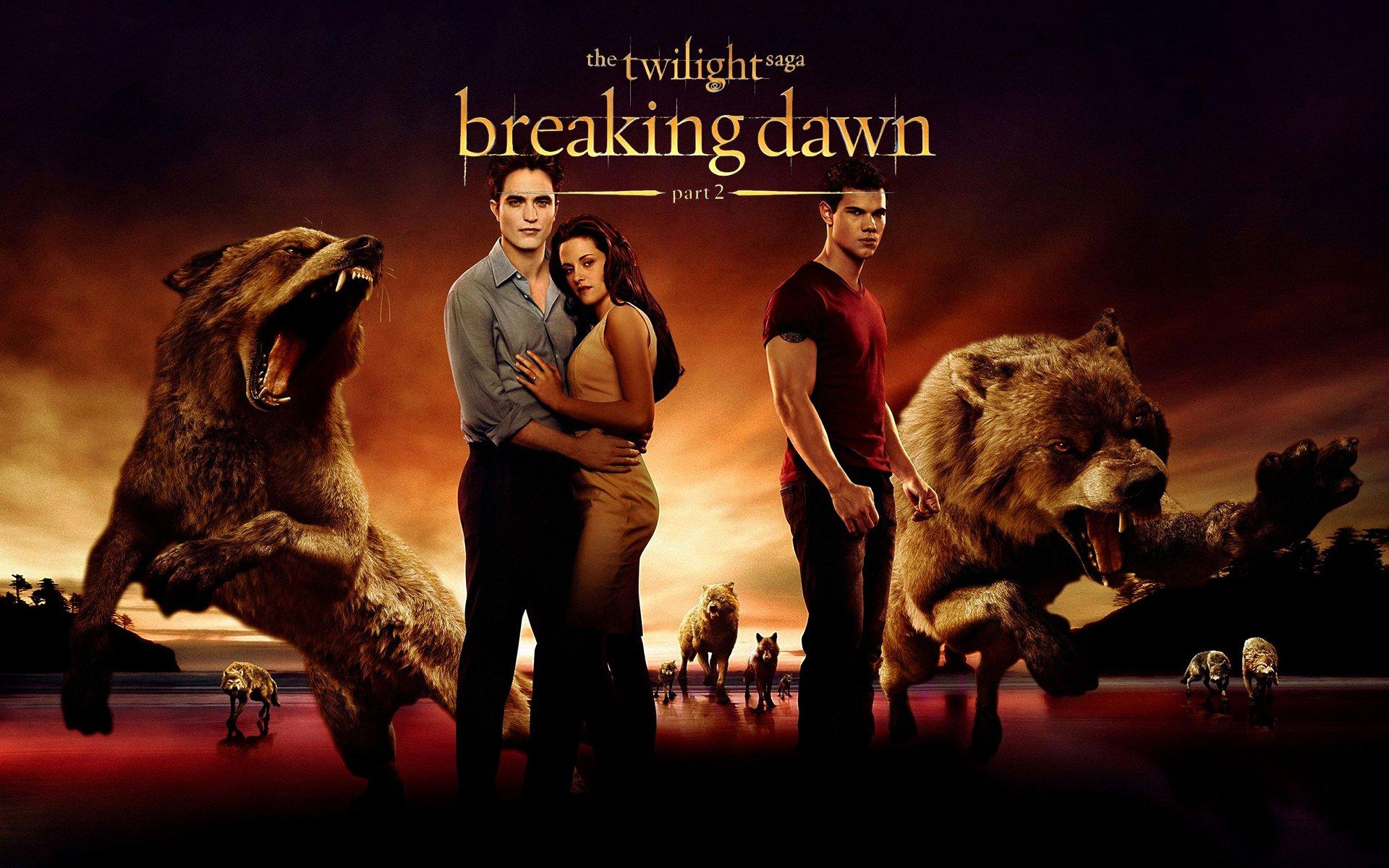 Breaking Dawn, Cullens and Jake wallpaper
