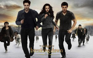 Breaking Dawn, Cullens and Jake kertas dinding