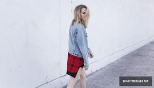 Bridgit Mendler - Aritzia 2013 Issue 23