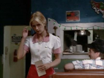 Buffy as Anne the Waitress