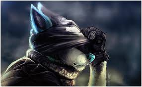 Alpha and Omega karatasi la kupamba ukuta called Call of duty black ops: furries