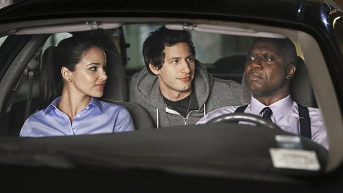 Brooklyn Nine-Nine پیپر وال probably containing an automobile titled Car