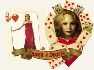 "Caroline Forbes ""Queen of Hearts"""