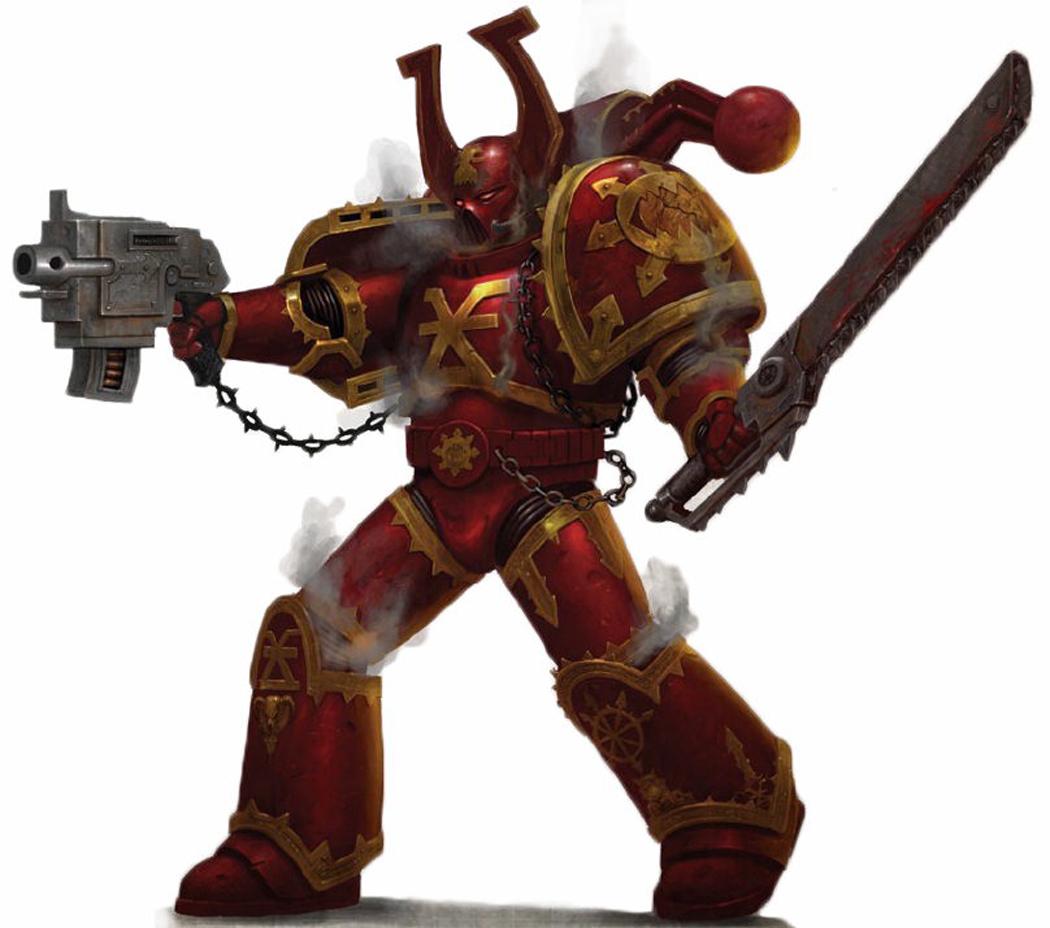 Warhammer 40k Chaos Space Marines: Warhammer 40k Photo (35839276)