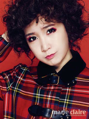 Choa for Marie Claire Korea interview - 'The Colour of Crayon'
