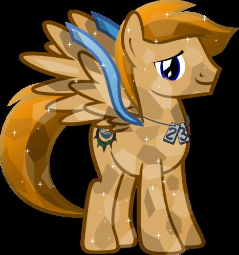 My Little pony - Freundschaft ist Magie Hintergrund titled Crystal Ponies