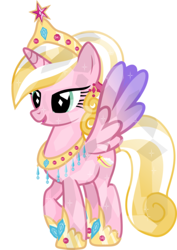 My Little pony Friendship is Magic achtergrond titled Crystal Ponies