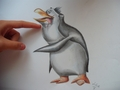 Cute Rico, nice Rico!  - penguins-of-madagascar fan art
