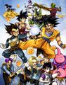 DBZ - dragon-ball-z fan art