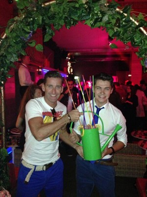 Damian & Paul in Dublin @ Damos's Birthday Party