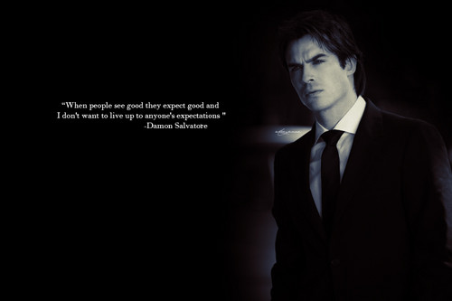 Damon Salvatore wallpaper containing a business suit, a suit, and a three piece suit called Damon Salvatore
