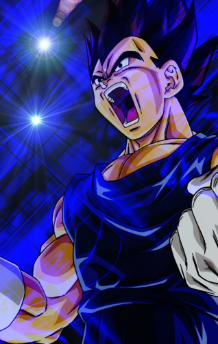 majin vegeta live wallpaper