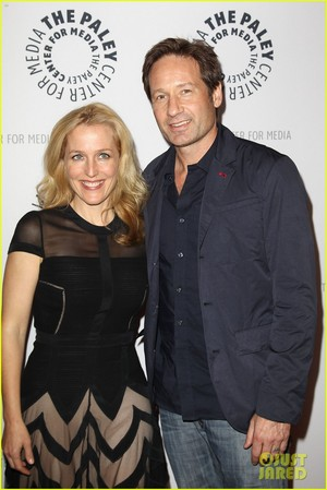 David Duchovny & Gillian Anderson: 'X Files' 20th Anniversary