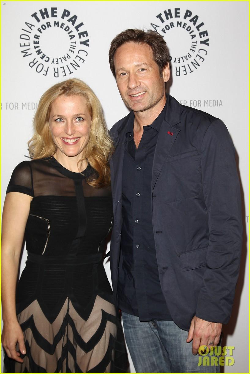David Duchovny & Gillian Anderson: 'X Files' 20th Anniversary