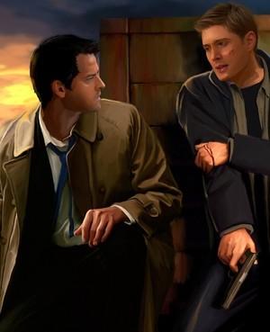Dean and Castiel ❤