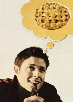 Supernatural wallpaper called Dean and Pie
