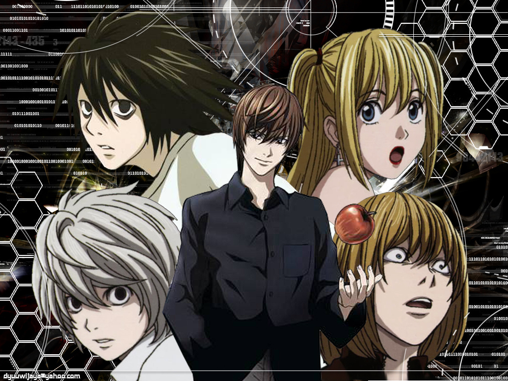 Psychological Anime/Manga images Death Note HD wallpaper ...