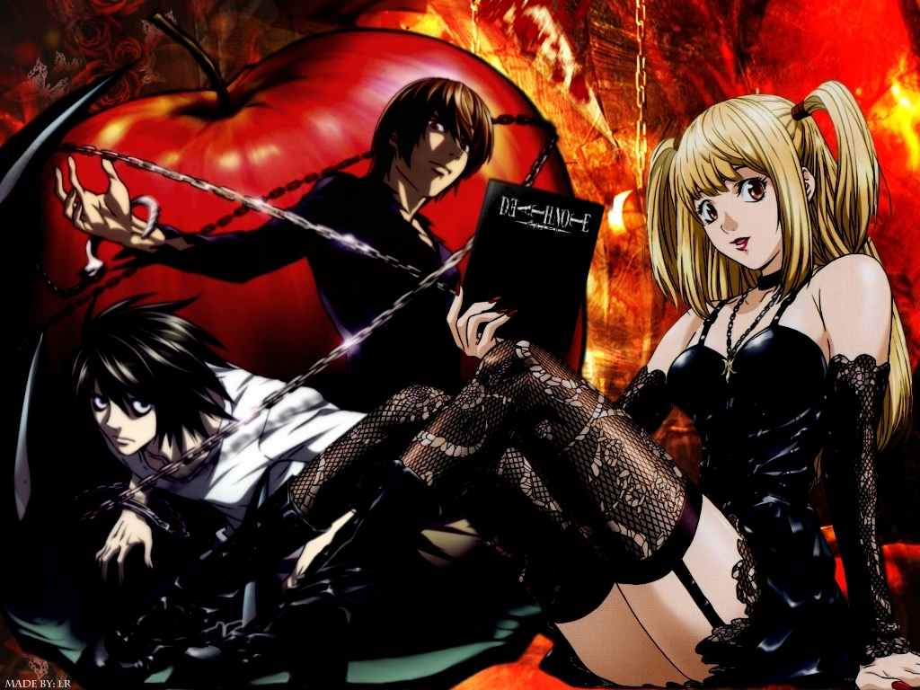 Psychological Anime/Manga images Death Note HD wallpaper and ...