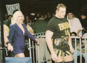 Debra & Owen Hart - WOW August 1999