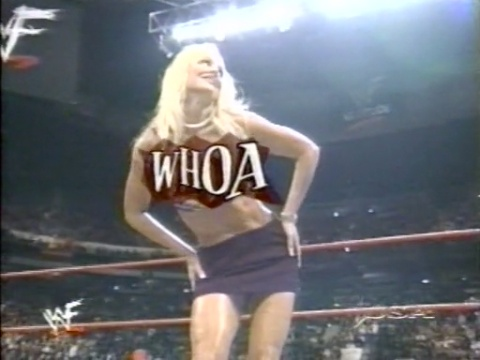 Bekas Diva WWE... Debra kertas dinding entitled Debra - Superstars - 01/30/01