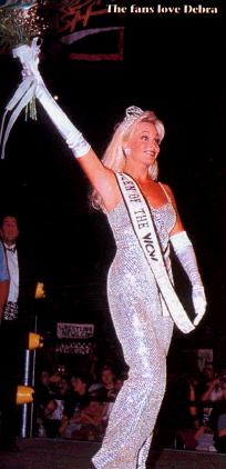 Debra - rare queen of WCW pic