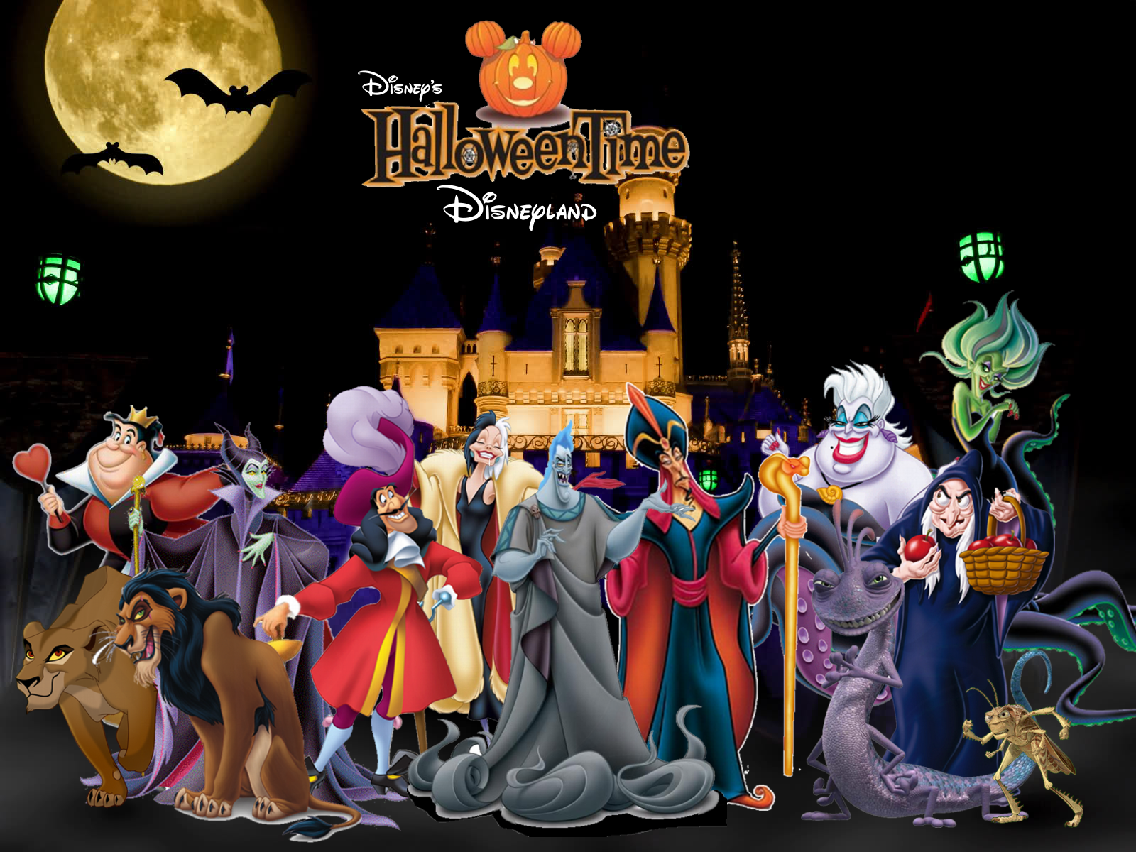 Disneyland In Halloween Time