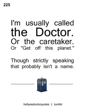 Doctor Who 名言・格言 ♥