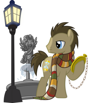 Doctor Whooves and Weeping Angel