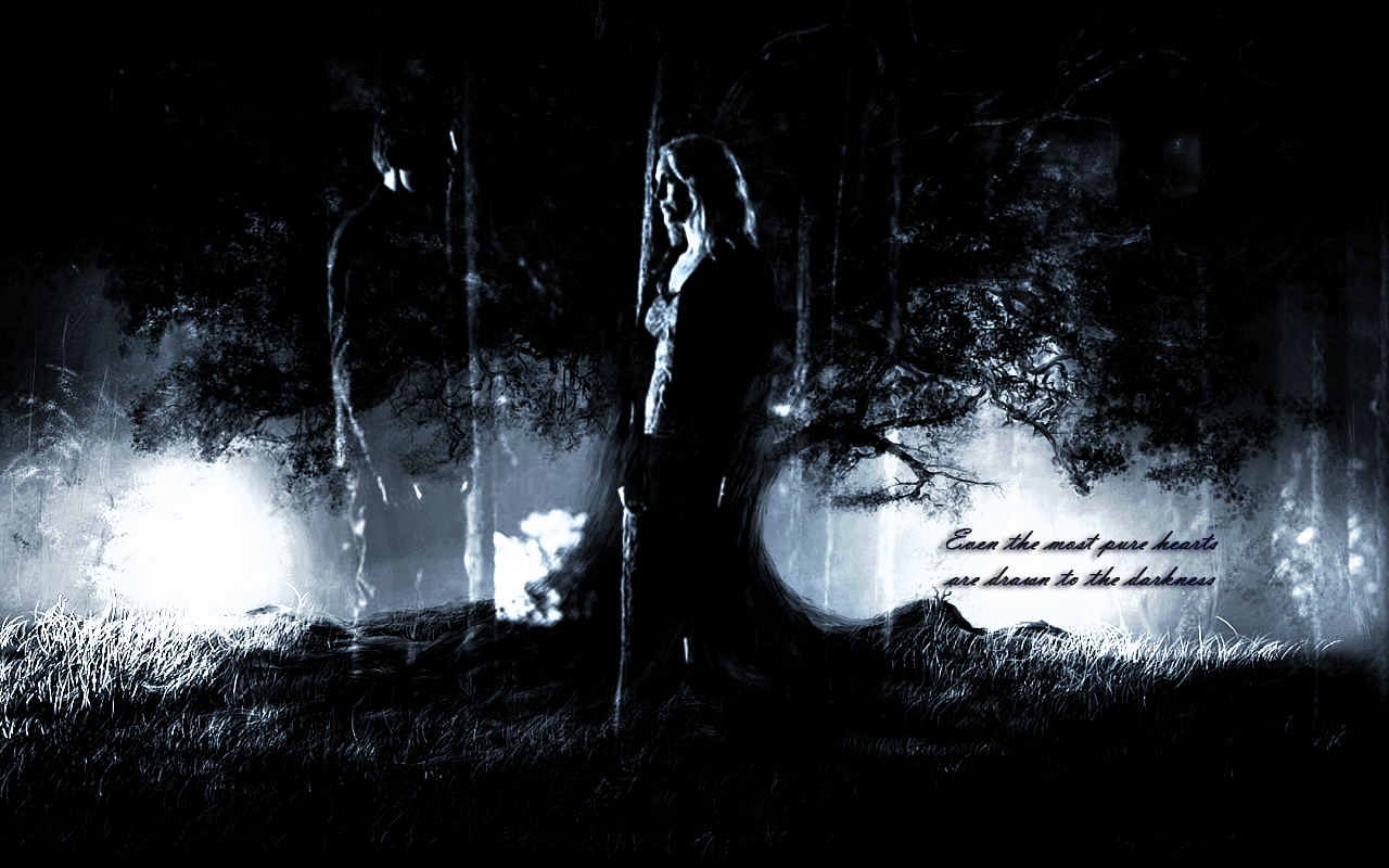 Don't underestimate the allure of darkness, even the purest hearts are drawn to it…